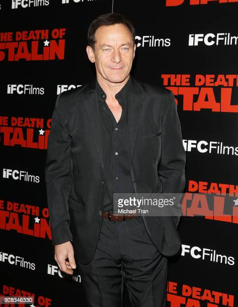 Jason Isaacs arrives to the Los Angeles premiere of IFC Films' The Death Of Stalin held at The Theatre at Ace Hotel on March 6 2018 in Los Angeles...