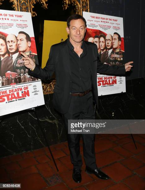 Jason Isaacs arrives to the Los Angeles premiere of IFC Films' 'The Death Of Stalin' held at The Theatre at Ace Hotel on March 6 2018 in Los Angeles...