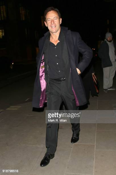 Jason Isaacs attending the Dunhill and Dylan Jones PreBAFTA Filmmakers Dinner on February 15 2018 in London England