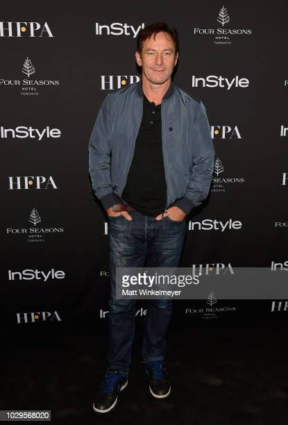 Jason Isaacs attends 2018 HFPA and InStyle's TIFF Celebration at the Four Seasons Hotel on September 8 2018 in Toronto Canada