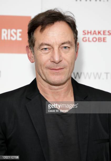 """Jason Isaacs attends a fundraising performance of """"Everything I Ever Wanted To Tell My Daughter About Men"""" at Shakespeare's Globe on February 20,..."""