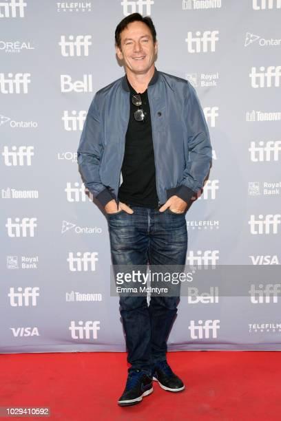 Jason Isaacs attends Hotel Mumbai Press Conference during 2018 Toronto International Film Festival at TIFF Bell Lightbox on September 8 2018 in...