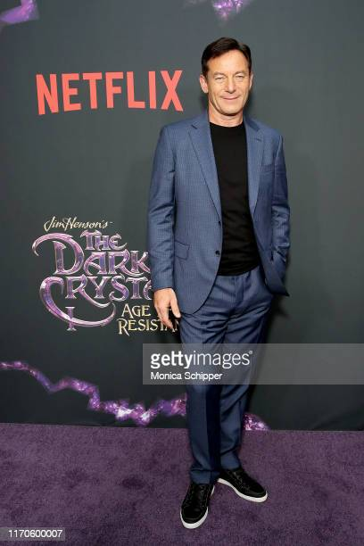Jason Isaacs attends Netflix's The Dark Crystal Age of Resistance Screening at Museum of Moving Image on August 27 2019 in New York City