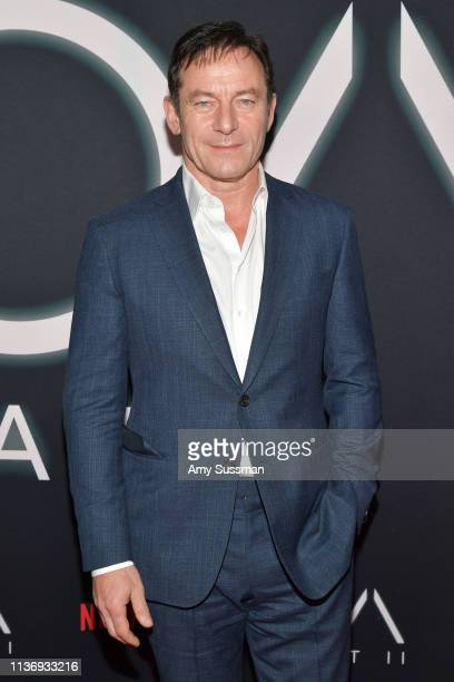 """Jason Isaacs attends Netflix's """"The OA Part II"""" Premiere Photo Call at LACMA on March 19, 2019 in Los Angeles, California."""