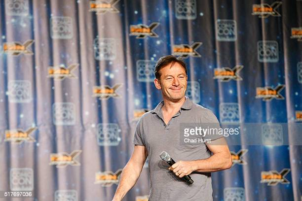 Jason Isaacs attends the 2016 Salt Lake Comic Con Fan Xperience at Salt Palace Convention Center on March 26 2016 in Salt Lake City Utah