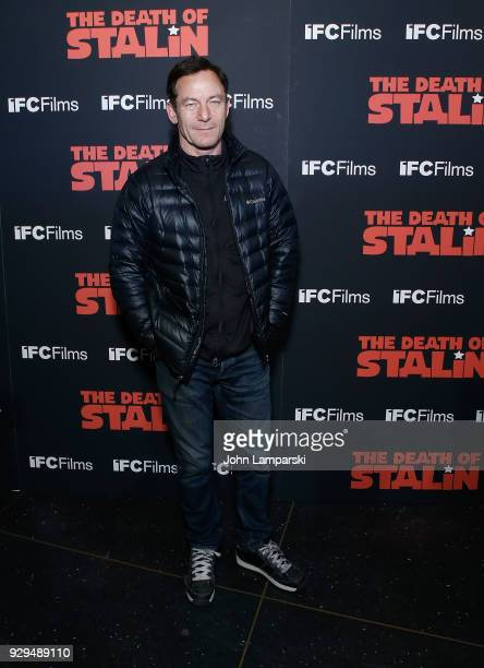 Jason Isaacs attends 'The Death Of Stalin' New York premiere at AMC Lincoln Square Theater on March 8 2018 in New York City