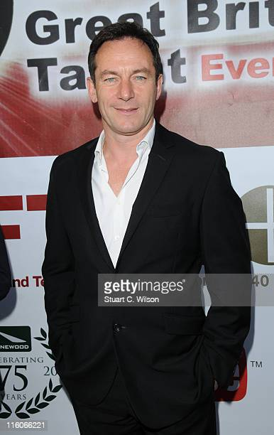 Jason Isaacs attends the Great British Talent Event hosted by the National Film and Television School at Old Billingsgate Market on June 14 2011 in...
