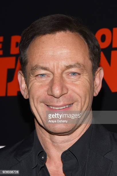 "Jason Isaacs attends the premiere of IFC Films' ""The Death Of Stalin"" at The Theatre at Ace Hotel on March 6, 2018 in Los Angeles, California."