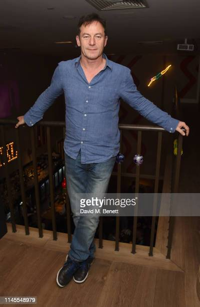 Jason Isaacs attends the press night after party for The Lehman Trilogy at The Ham Yard Hotel on May 22 2019 in London England