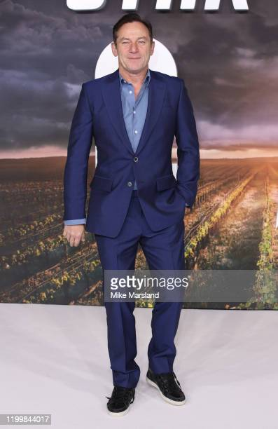 """Jason Isaacs attends the """"Star Trek Picard"""" UK Premiere at Odeon Luxe Leicester Square on January 15, 2020 in London, England."""