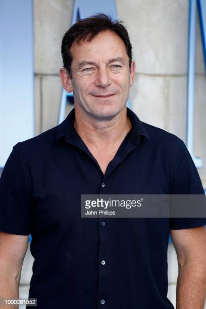 "Jason Isaacs attends the UK Premiere of ""Mamma Mia! Here We Go Again"" at Eventim Apollo on July 16, 2018 in London, England."