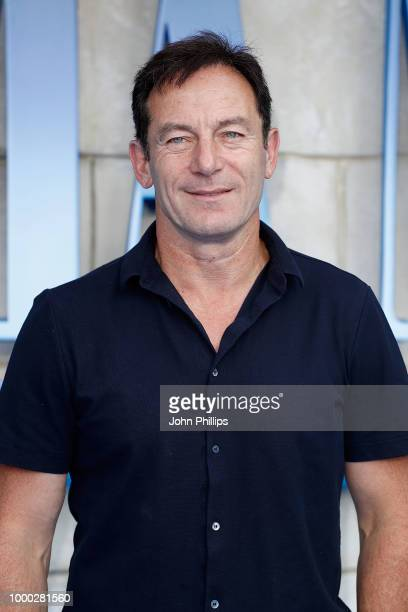 Jason Isaacs attends the UK Premiere of 'Mamma Mia Here We Go Again' at Eventim Apollo on July 16 2018 in London England