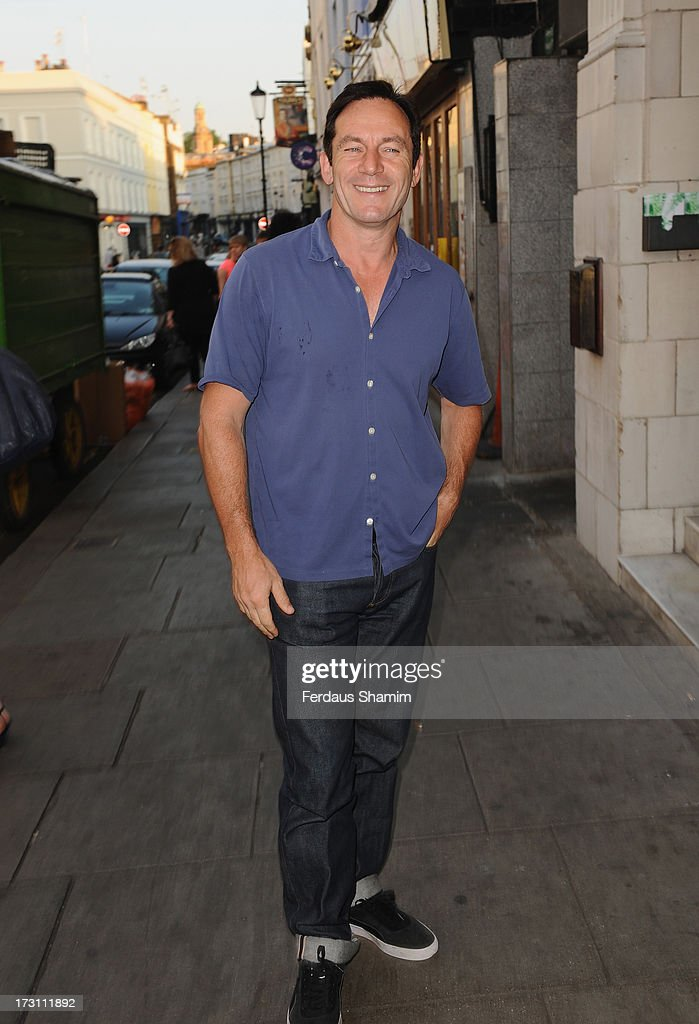 Jason Isaacs attends the UK Premiere of 'Trap For Cinderella' at The Electric Cinema on July 7, 2013 in London, England.