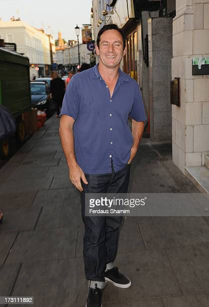 Jason Isaacs attends the UK Premiere of 'Trap For Cinderella' at The Electric Cinema on July 7 2013 in London England