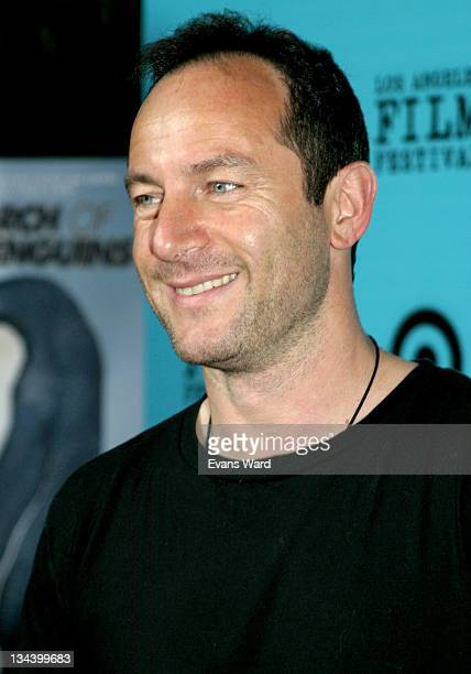 Jason Isaacs during 2005 Los Angeles Film Festival March Of The Penguins Screening at John Anson Ford Amphitheatre in Los Angeles California United...