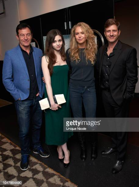 Jason Isaacs India Eisley Penelope Mitchell and Assaf Bernstein attend Screening Of Vertical Entertainment's Look Away at NeueHouse Hollywood on...