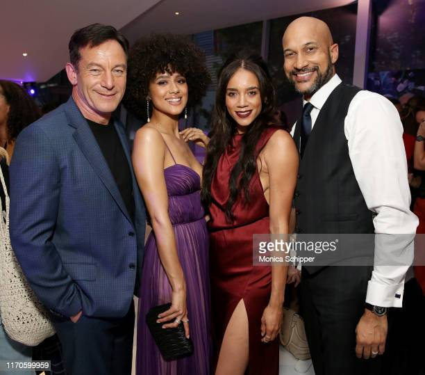 "Jason Isaacs, Nathalie Emmanuel, Hannah John-Kamen, and Keegan-Michael Key attend Netflix's ""The Dark Crystal: Age of Resistance"" Screening at Museum..."