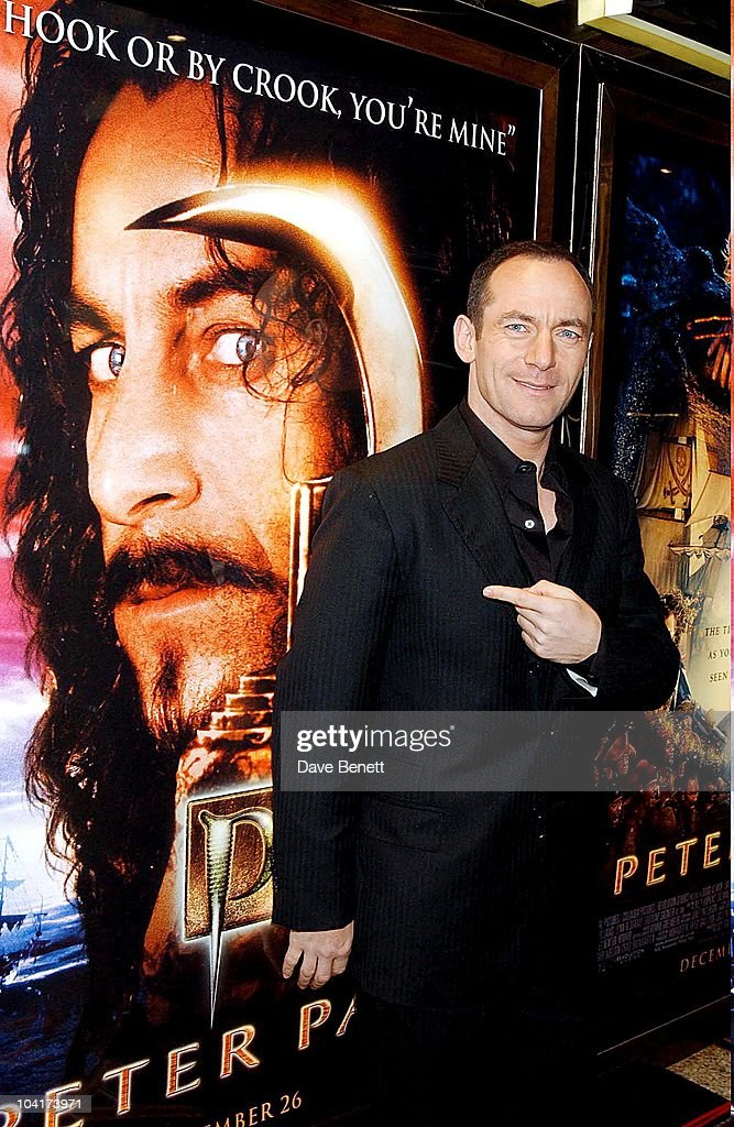 Jason Isaacs, Peter Pan The Movie, Premiere At The Empire, Leicester Square, London