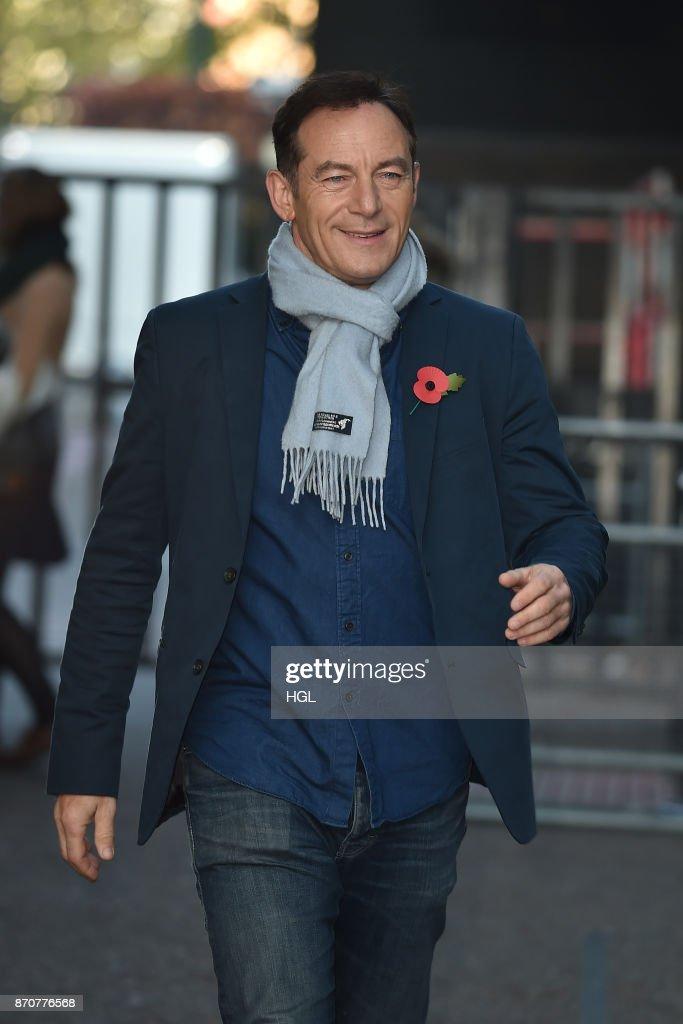Jason Isaacs seen at the ITV Studios on November 6, 2017 in London, England.