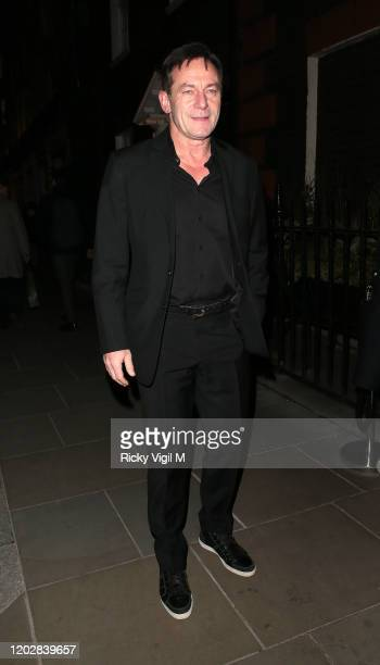 Jason Isaacs seen attending Dunhill & Dylan Jones BAFTAs Filmmakers Dinner & Party at Bourdon House on January 29, 2020 in London, England.