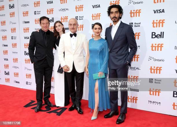 Jason Isaacs Tilda CobhamHervey Anupam Kher Nazanin Boniadi and Dev Patel attend the 'Hotel Mumbai' premiere during 2018 Toronto International Film...