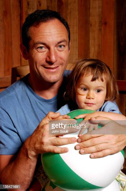 Jason Isaacs with daughter Lily during 2004 Los Angeles Film Festival Jason Isaacs Portrait at 8000 Sunset in Los Angeles Califonia United States