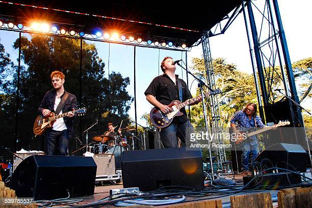 Jason Isbell and the 400 Unit perform onstage at the Hardly Strictly Bluegrass Festival in Golden Gate Park San Francisco California USA on 7th...