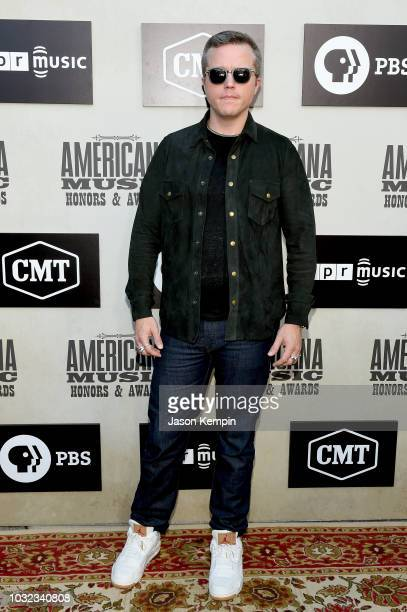 Jason Isbell attends the 2018 Americana Music Honors and Awards at Ryman Auditorium on September 12 2018 in Nashville Tennessee