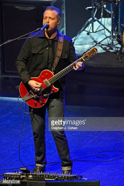 Jason Isbell of Jason Isbell and The 400 Unit performs at The Louisville Palace on December 14 2017 in Louisville Kentucky