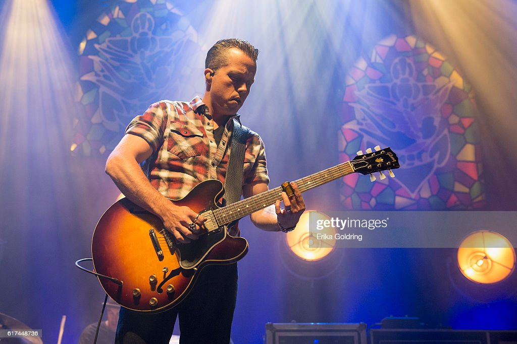 Jason Isbell performs at The Joy Theater on October 22, 2016 in New Orleans, Louisiana.