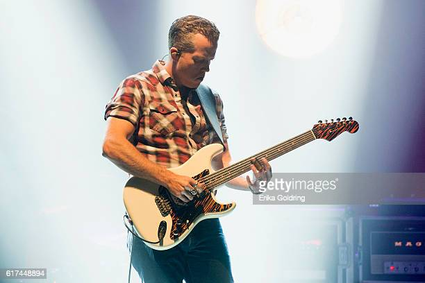 Jason Isbell performs at The Joy Theater on October 22 2016 in New Orleans Louisiana