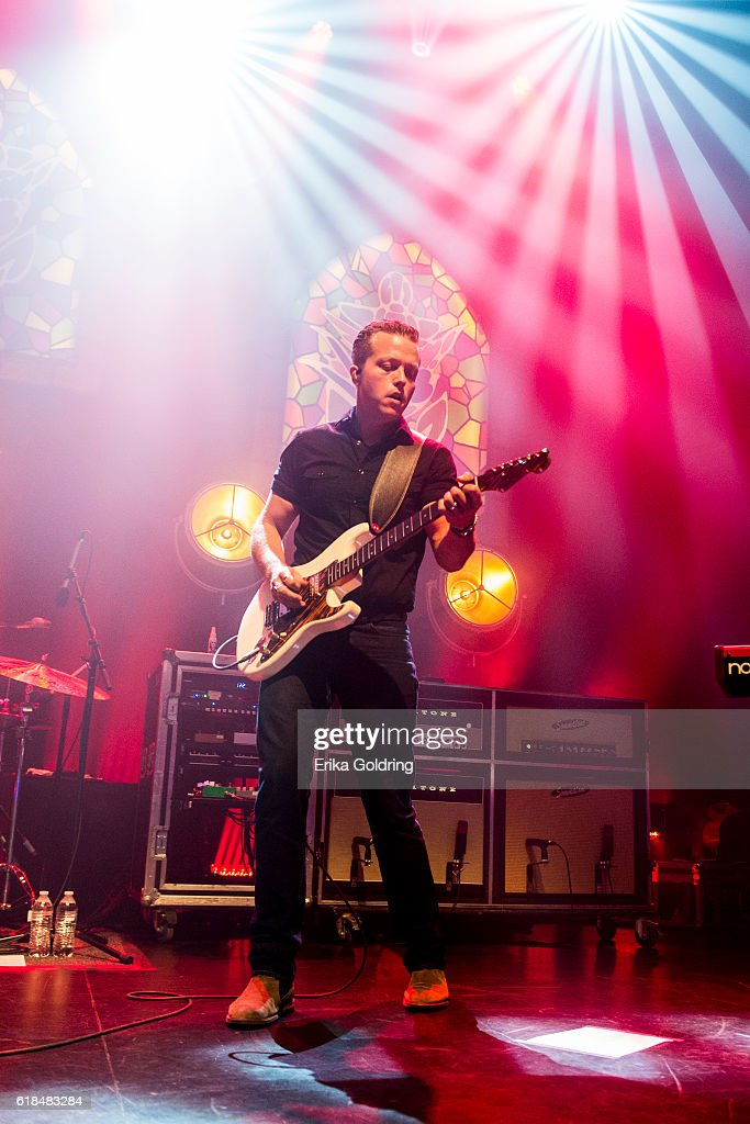 Jason Isbell performs at The Joy Theater on October 23, 2016 in New Orleans, Louisiana.
