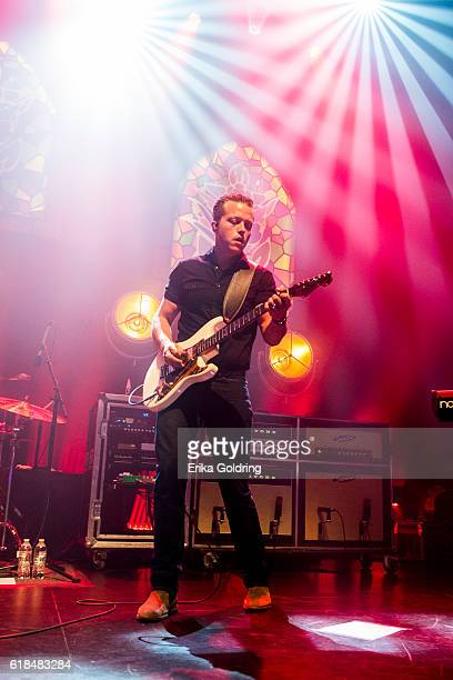 Jason Isbell performs at The Joy Theater on October 23 2016 in New Orleans Louisiana