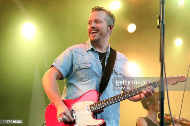 Jason Isbell performs during the 2019 BRIC Celebrate Brooklyn Festival at Prospect Park Bandshell on June 19 2019 in New York City