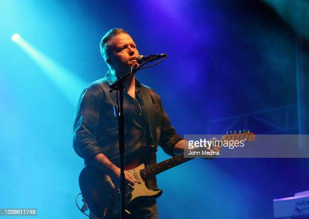 Jason Isbell performs during the 2020 Innings Festival at Tempe Beach Park on February 29 2020 in Tempe Arizona