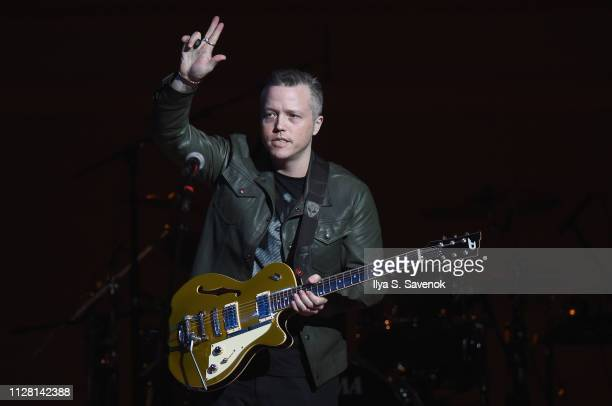 Jason Isbell performs on stage during 32nd Annual Tibet House US Benefit Concert Gala at Carnegie Hall on February 07 2019 in New York City