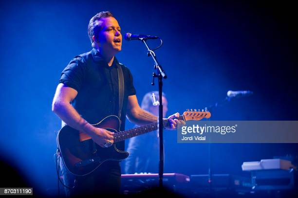 Jason Isbell performs on stage during Take Root Festival at Oosterpoort on November 4 2017 in Groningen Netherlands