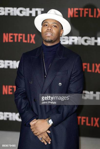 Konan attends the European Premeire of 'Bright' held at BFI Southbank on December 15 2017 in London England