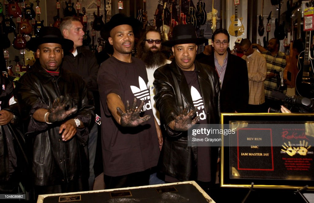 RUN-DMC Inducted into Hollywood's Rockwalk