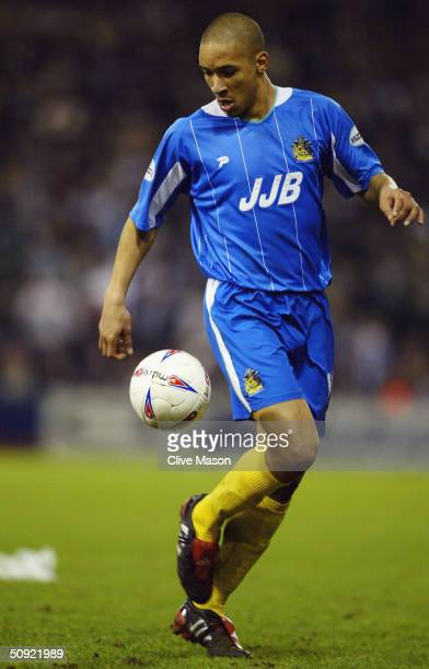 Jason Jarrett of Wigan Athletic during the Nationwide Division One match between West Bromwich Albion and Wigan Athletic at The Hawthorns on March 16...