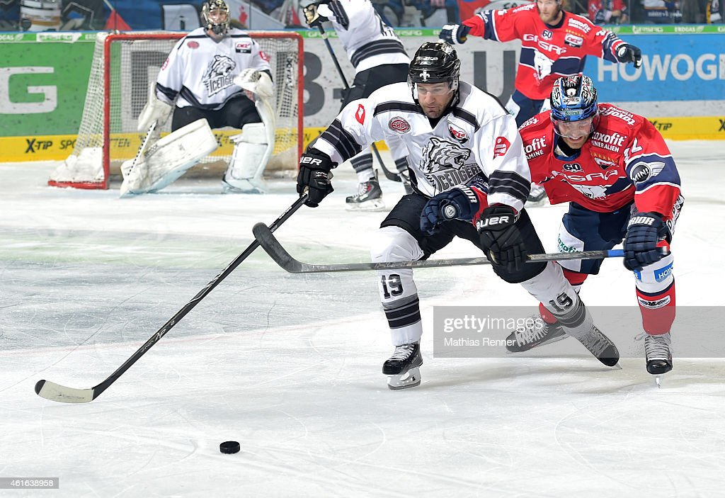 Eisbaeren Berlin v Thomas Sabo Ice Tigers - DEL