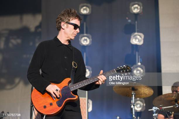 Jason Jay Mehler performs on the main stage during The Legitimate Peaky Blinders Festival 2019 at the Custard Factory on September 14 2019 in...