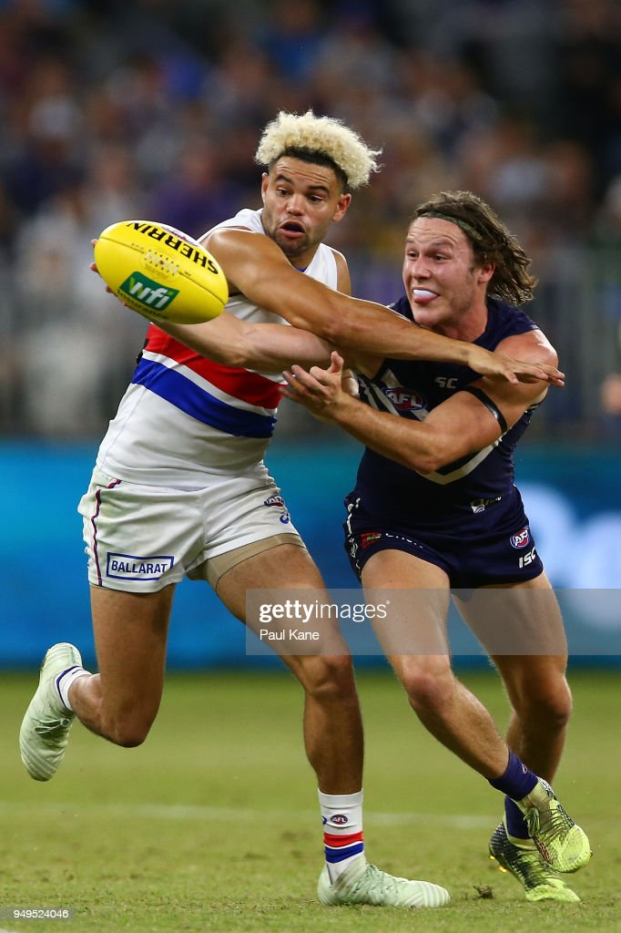 AFL Rd 5 - Fremantle v Western Bulldogs