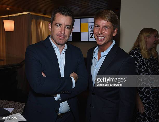 Jason Jones and Jack McBrayer attend the Turner Upfront 2015 at Madison Square Garden on May 13 2015 in New York City JPG