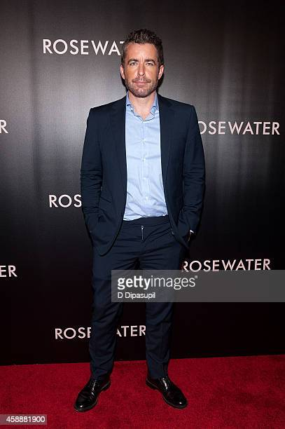 Jason Jones attends the Rosewater New York Premiere at AMC Lincoln Square Theater on November 12 2014 in New York City