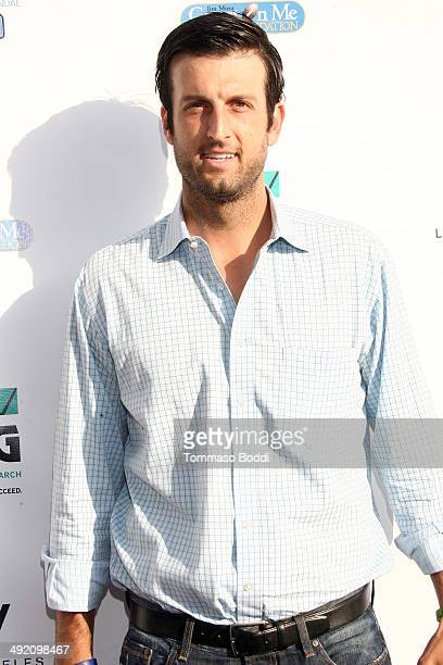 Jason Kapono attends the 8th annual Jim Mora Celebrity Golf Classic Foundation VIP welcome reception held at the W Westwood on May 18 2014 in...
