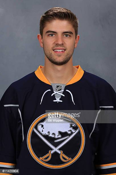 Jason Kasdorf of the Buffalo Sabres poses for his official headshot of the 20162017 season on September 22 2016 at the KeyBank Center in Buffalo New...