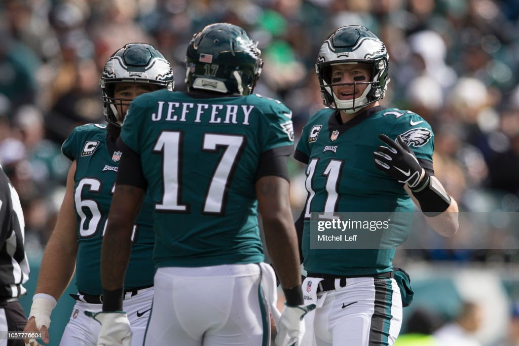 Carolina Panthers v Philadelphia Eagles : News Photo
