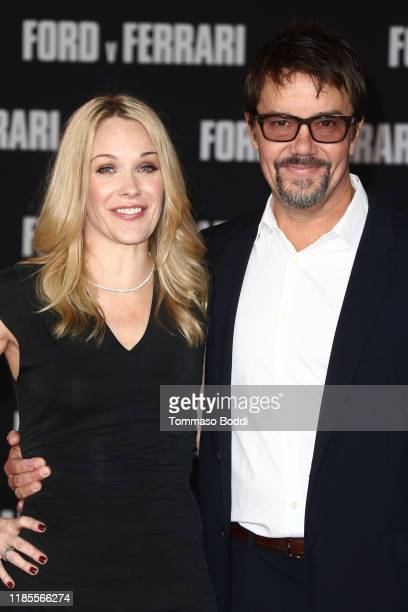 Jason Keller and guest attend the Premiere Of FOX's Ford V Ferrari at TCL Chinese Theatre on November 04 2019 in Hollywood California