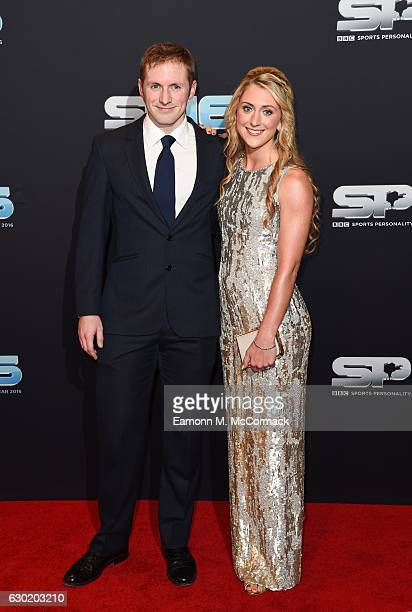 Jason Kenny and Laura Kenny attend the BBC Sports Personality Of The Year on December 18 2016 in Birmingham United Kingdom